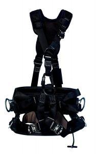 3M™ DBI-SALA® ExoFit NEX™ Lineman Suspension Harness with 4D Leather Lineman Belt image