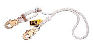 3M DBI-SALA® 1232209 - Rope Adjustable Positioning Lanyard, Nylon, 6 ft.image