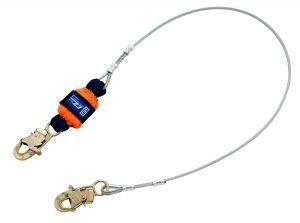 3M DBI-SALA® 1246066 - EZ-Stop™ Leading Edge Cable Shock Absorbing Lanyard, 6 ft.image