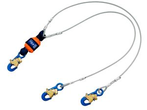 DBI-SALA® EZ-Stop™  Leading Edge 100% Tie-Off Cable Shock Absorbing Lanyard - 6 ft. (1246068)image