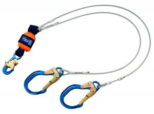 DBI-SALA® EZ-Stop™  Leading Edge 100% Tie-Off Cable Shock Absorbing Lanyard - 6 ft. (1246178)image