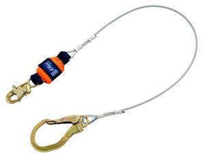 3M DBI-SALA® 1246261 - EZ-Stop™ Leading Edge Cable Shock Absorbing Lanyard, 6 ft.image