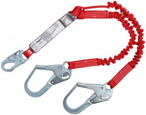 PROTECTA® PRO™ Pack  Elastic 100% Tie-Off Shock Absorbing Lanyard - 6 ft. (1342125)image