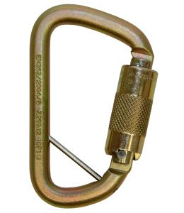 3M DBI-SALA® 2000117 - Rollgliss™ Technical Rescue Offset D Fall Arrest Carabiner with Captive Eye,image