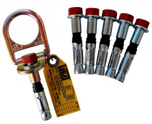 3M DBI-SALA® 2104561 - Concrete D-ring Anchor, 5 Extra Boltsimage