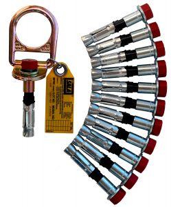 3M DBI-SALA® 2104562 - Concrete D-ring Anchor, 11 Extra Boltsimage