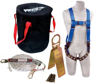 3M PROTECTA® 2199814 - Compliance in a Can™ Fall Protection Compliance Kit, In a Bagimage