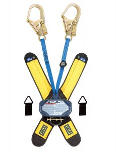 3M DBI-SALA® 3102003 - Talon™ Twin-Leg Quick Connect Self Retracting Lifeline Web, 6 ft.image