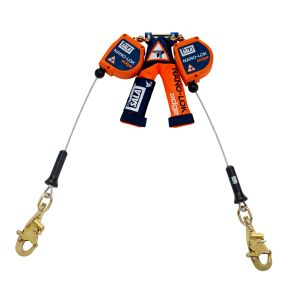 3M DBI-SALA® 3500226 - Nano-Lok™ edge Twin-Leg Quick Connect Self Retracting Lifeline, 8 ft.image