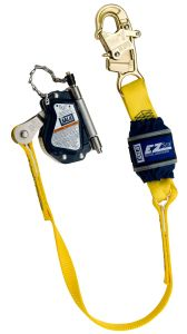3M DBI-SALA® 5002045 - Lad-Saf™ Mobile Rope Grab with Attached EZ-Stop™, 3 ft.image
