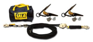 DBI-SALA®  Sayfline™ Roofer's HLL System with Heavy-Duty Roof Anchors (7600511)image