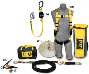 3M DBI-SALA® 7611907 - None 2 Person Roofer's Fall Protection Kit, 50 ft.image