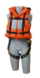 3M DBI-SALA® 9500468 - Off-Shore Lifejacket with Harness D-ring Opening, Universalimage