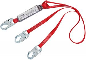3M PROTECTA® 1342001 - PRO™ Pack 100% Tie-Off Shock Absorbing Lanyard, 6 ft.image