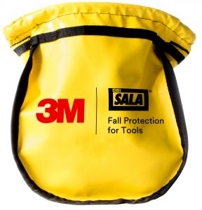 3M DBI-SALA® 1500122 - Python Safety® Parts Pouch, Vinyl Yellow, Smallimage