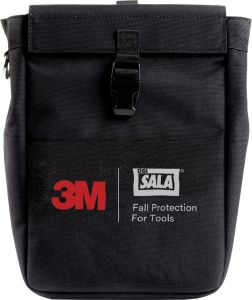 3M DBI-SALA® 1500128 - Python Safety® Tool Pouch Extra Deep with D-ring, Two Retractorsimage