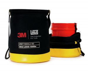 3M DBI-SALA® 1500135 - Python Safety® 5 Gallon Safe Bucket 100 lb. Load Rated Hook and Loop Canvasimage
