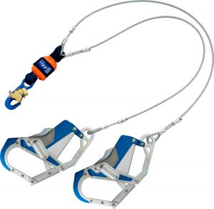 DBI-SALA® EZ-Stop™  Leading Edge 100% Tie-Off Cable Shock Absorbing Lanyard - 6 ft. (1246412)image