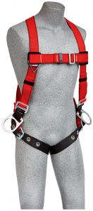3M™ PROTECTA® PRO™ Vest-Style Positioning Harness for Hot Work Use image