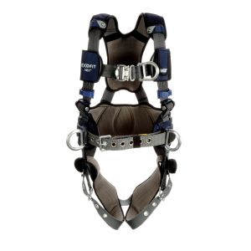 3M™ DBI-SALA® ExoFit NEX™ Plus Comfort Construction Style Positioning/Climbing Harness image